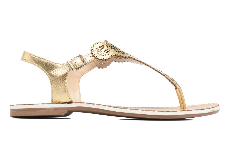 Sandales et nu-pieds Dune London Lill Or et bronze vue derrière