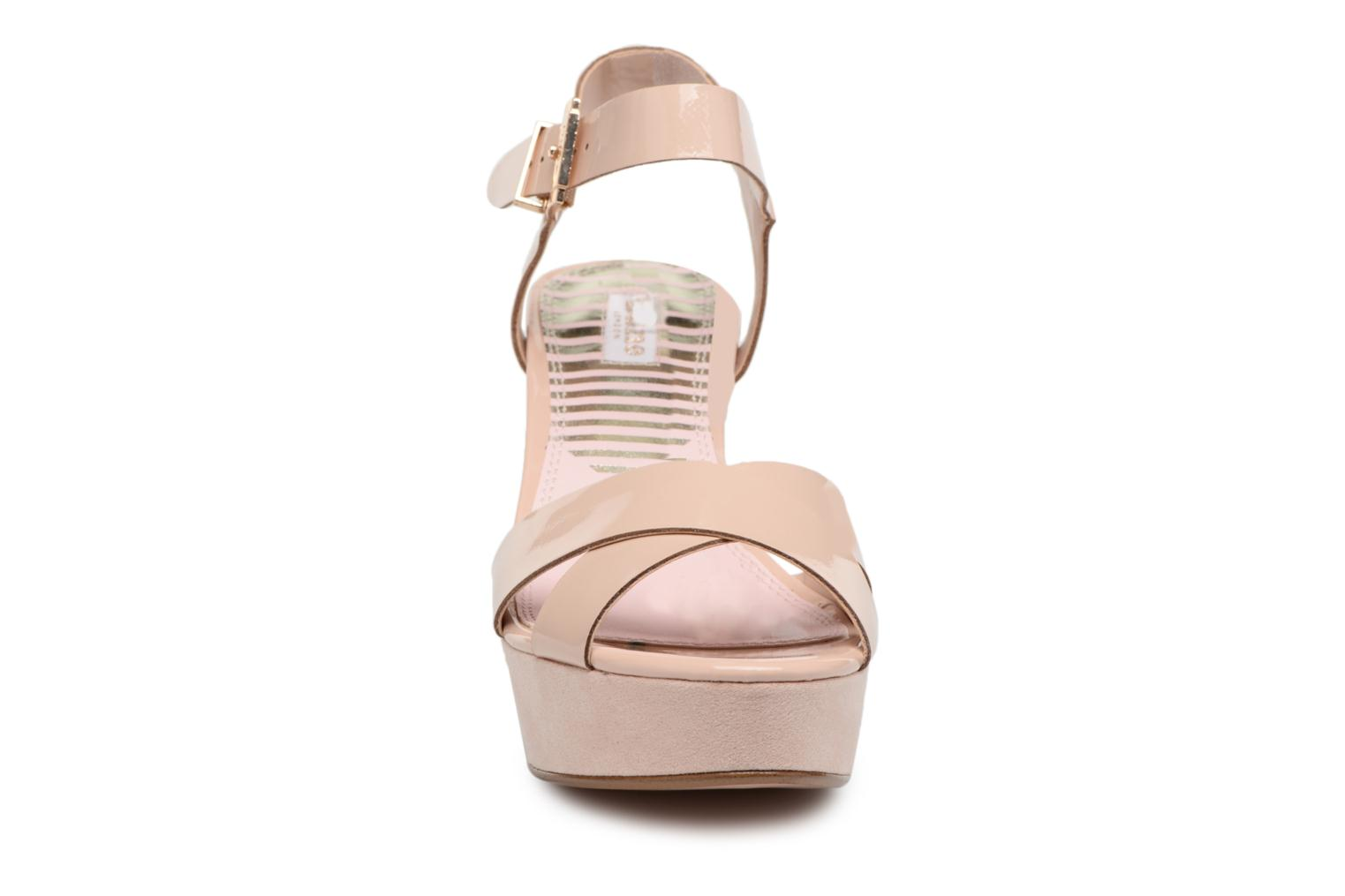 Sandals Dune London Iyla Beige model view