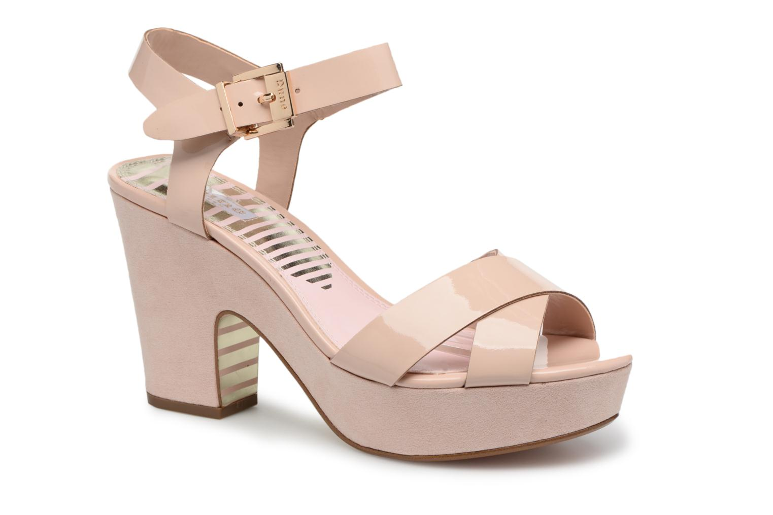 Sandals Dune London Iyla Beige detailed view/ Pair view