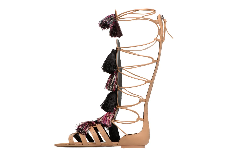 Sandales et nu-pieds Rebecca Minkoff Eve Beige vue face