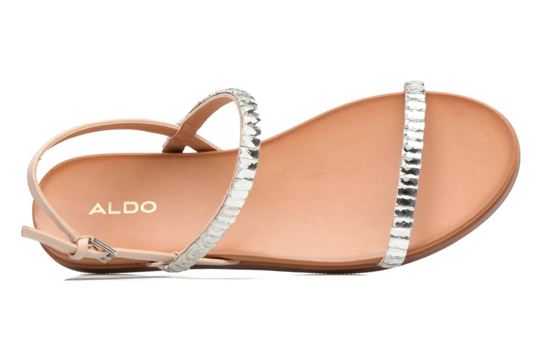 Sandales et nu-pieds Aldo RUBBIE Beige vue gauche