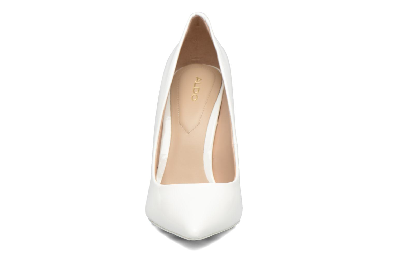 Escarpins Aldo STESSY K Blanc vue portées chaussures