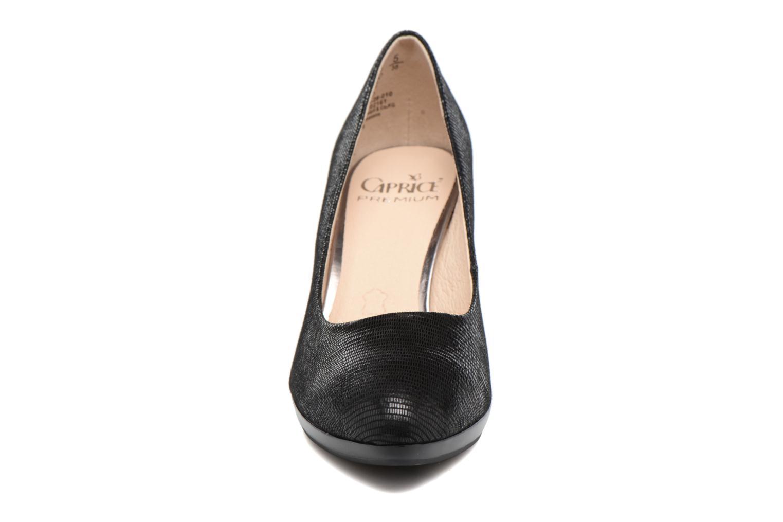 Escarpins Caprice Ashley Noir vue portées chaussures