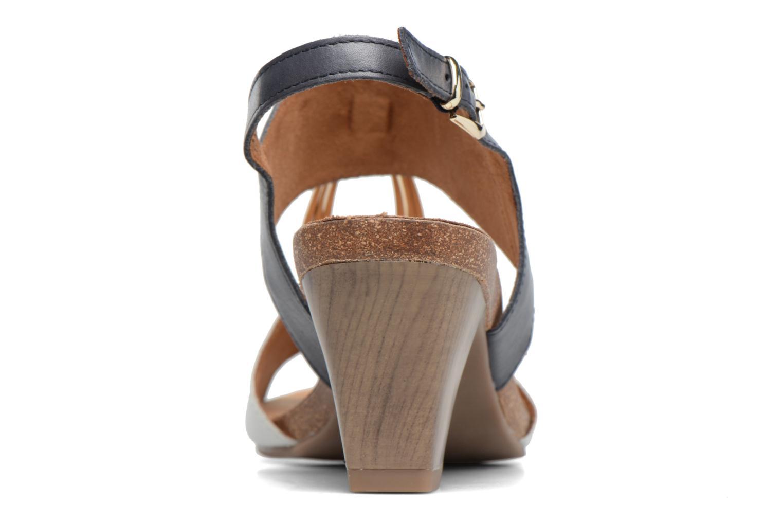 Sandales et nu-pieds Caprice Chenoa Bleu vue droite