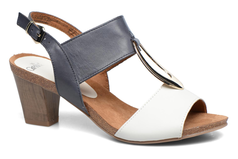 Sandales et nu-pieds Caprice Chenoa Bleu vue détail/paire