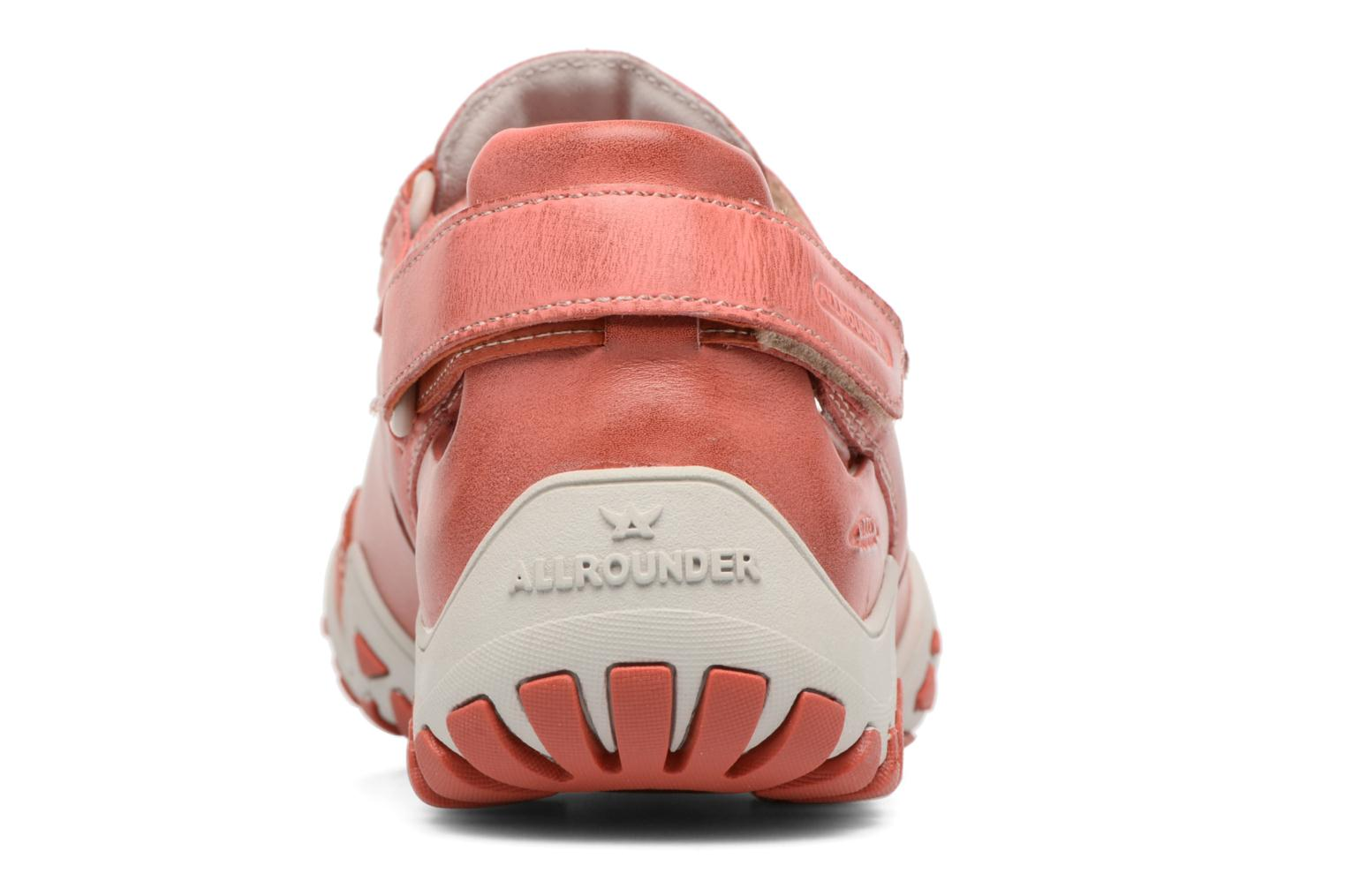 Chaussures de sport Allrounder by Mephisto Firelli Rouge vue droite
