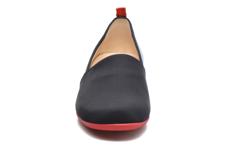 Mocassins Hassia Petra 1787 Bleu vue portées chaussures