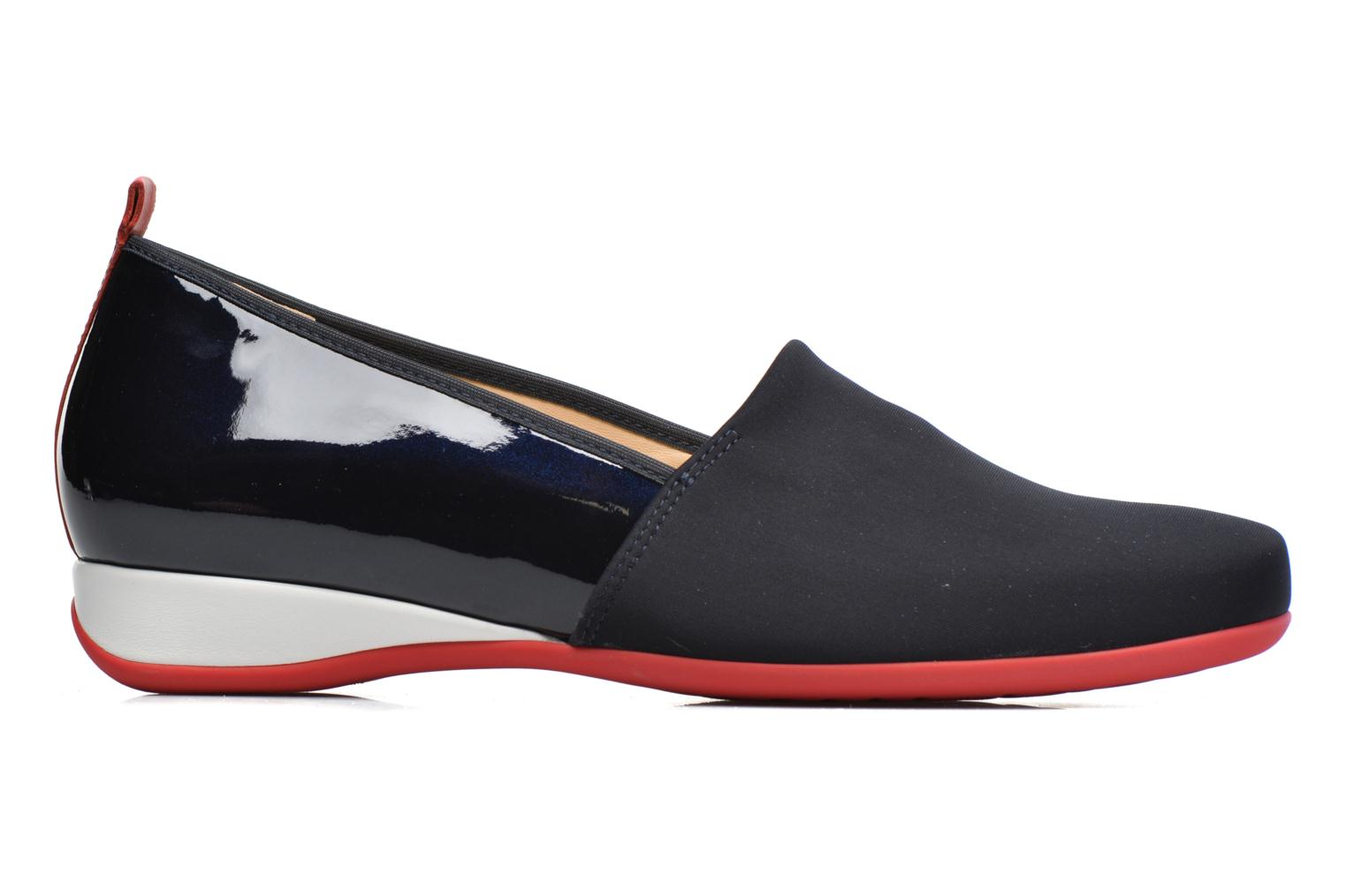 Loafers Hassia Petra 1787 Blue back view