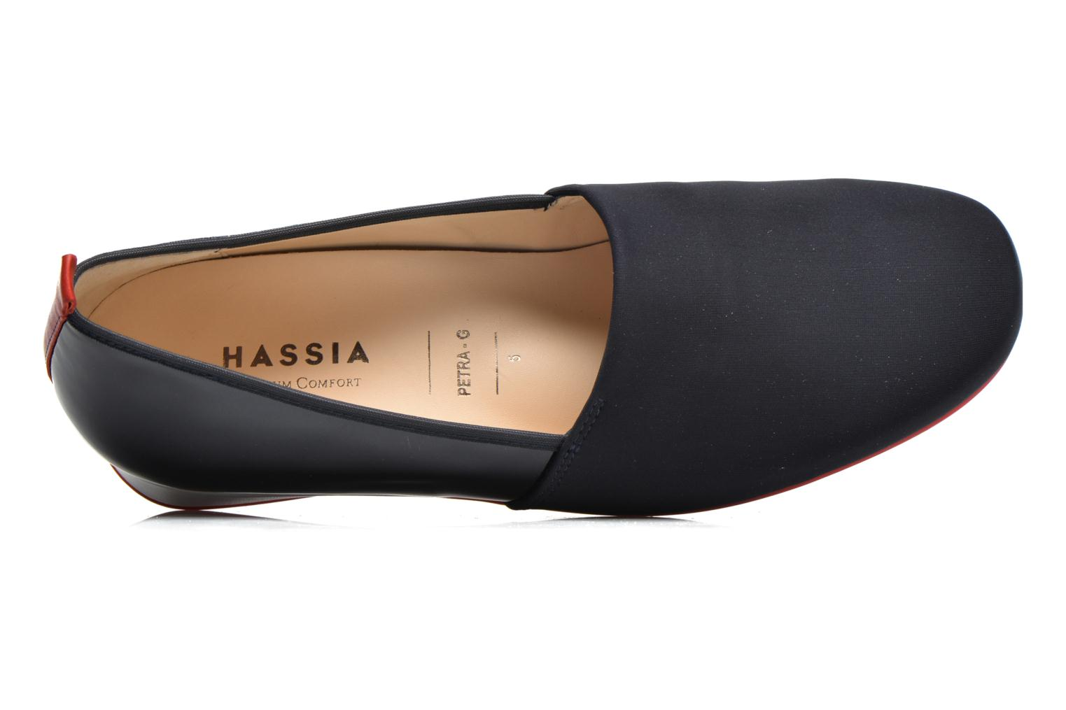 Loafers Hassia Petra 1787 Blue view from the left