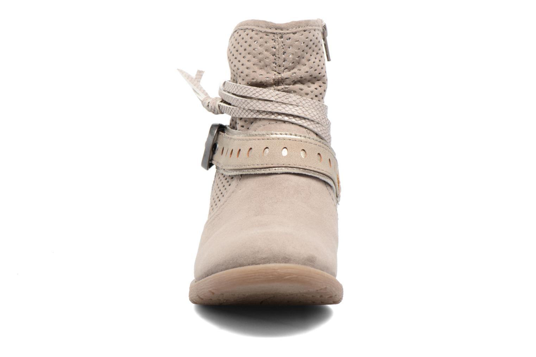 Bottines et boots Jana shoes Nani Beige vue portées chaussures
