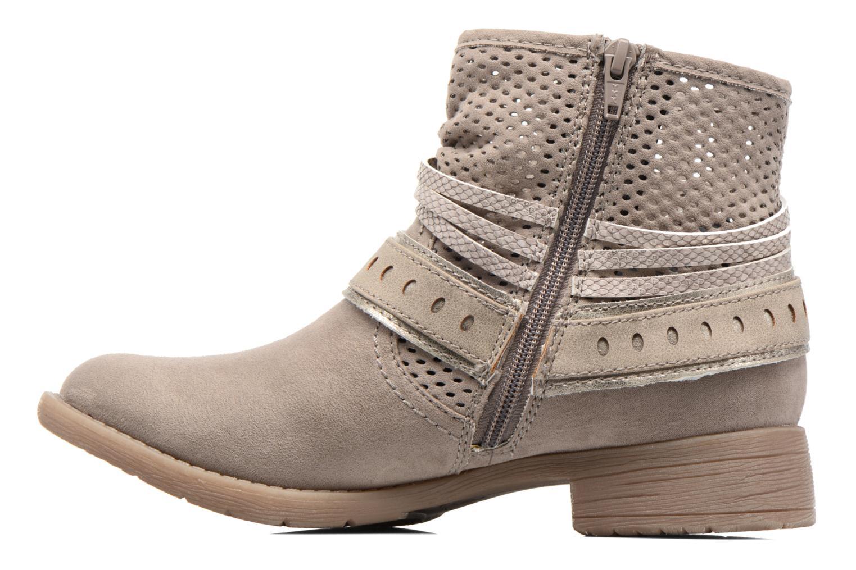 Bottines et boots Jana shoes Nani Beige vue face