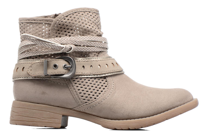 Bottines et boots Jana shoes Nani Beige vue derrière