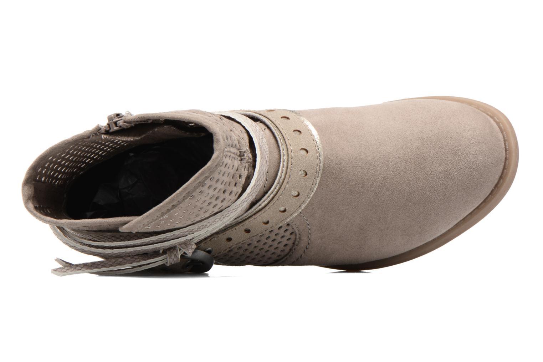Bottines et boots Jana shoes Nani Beige vue gauche