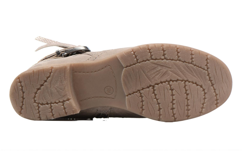 Bottines et boots Jana shoes Nani Beige vue haut