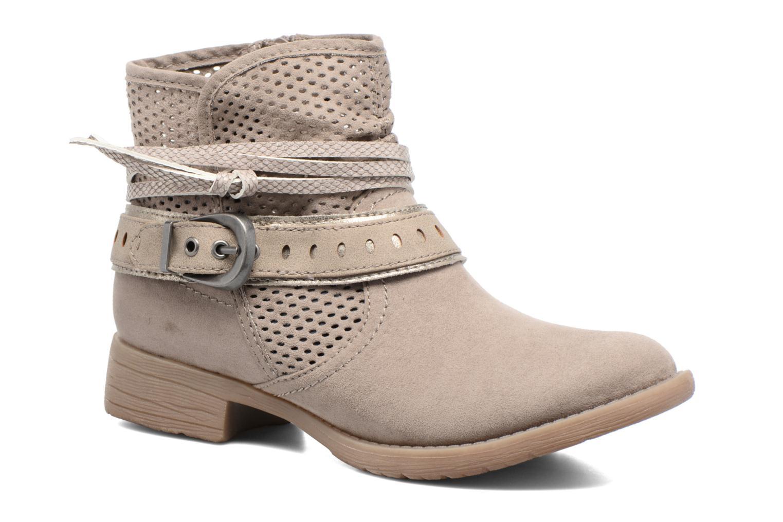 Bottines et boots Jana shoes Nani Beige vue détail/paire