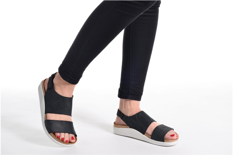 Sandales et nu-pieds El Naturalista Koi 5093 Bleu vue bas / vue portée sac