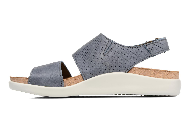 Sandales et nu-pieds El Naturalista Koi 5093 Bleu vue face