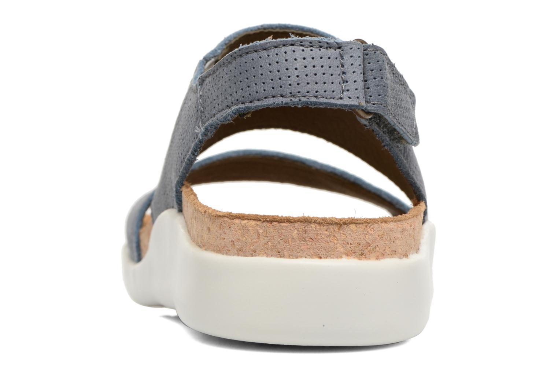 Sandales et nu-pieds El Naturalista Koi 5093 Bleu vue droite