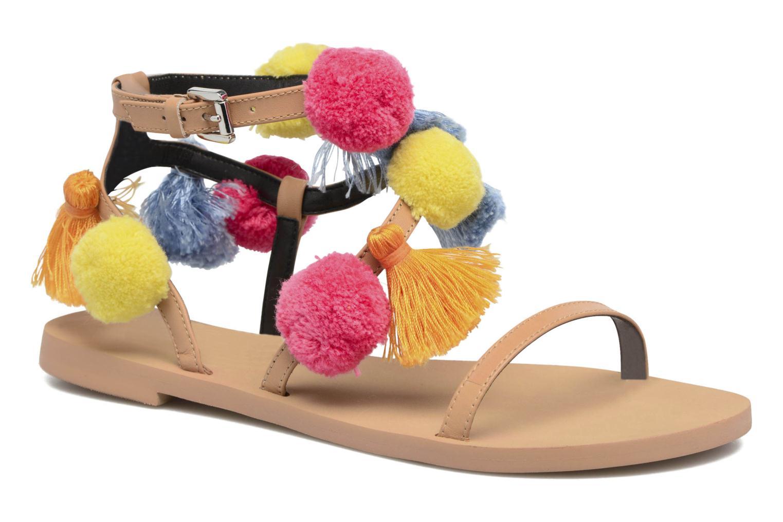Rebecca Minkoff Esme (Beige) - Sandales et nu-pieds chez Sarenza (289005)