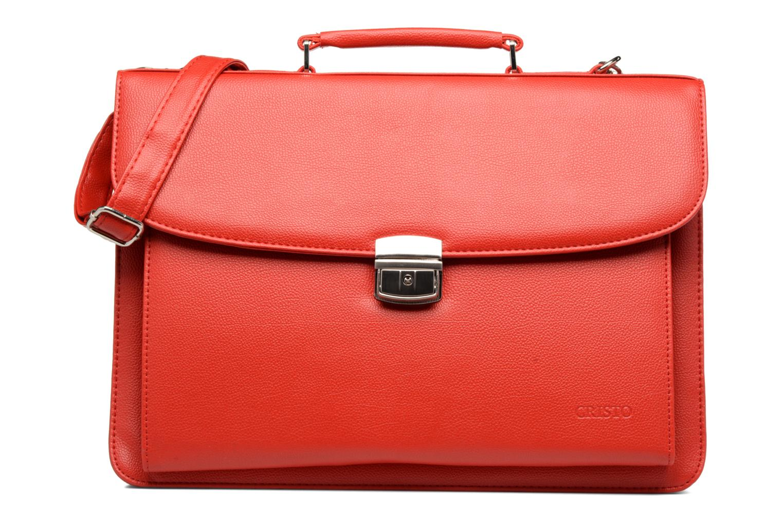 Business Cristo Sacoche 3 compartiments Rouge vue détail/paire