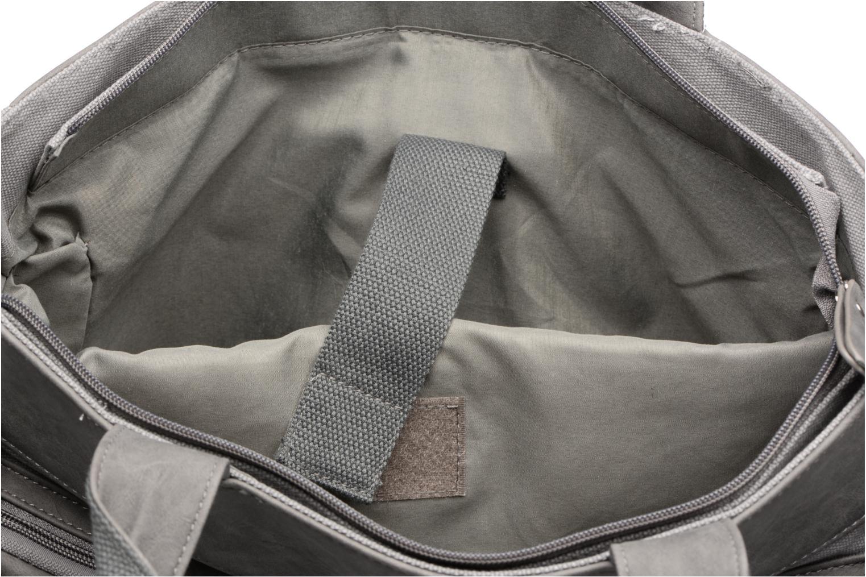 Business Cristo Sacoche 3 compartiments Grijs achterkant