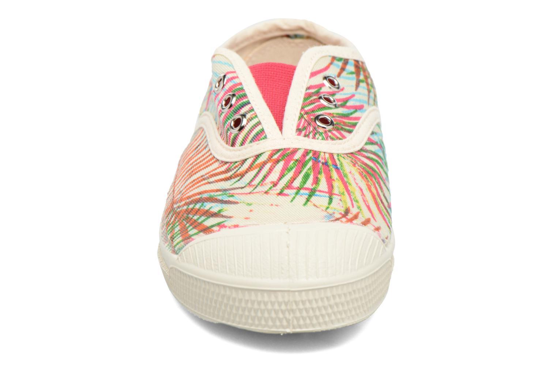 Baskets Bensimon Tennis Elly Feuilles Exotiques E Multicolore vue portées chaussures