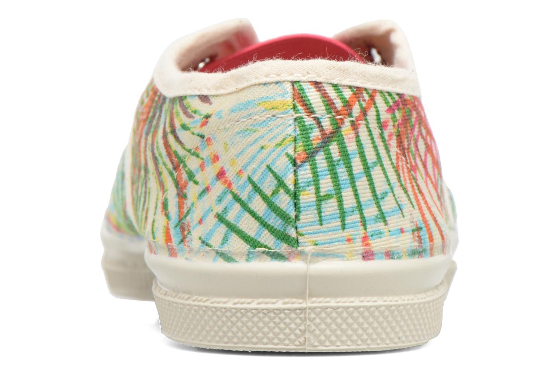 Baskets Bensimon Tennis Elly Feuilles Exotiques E Multicolore vue droite
