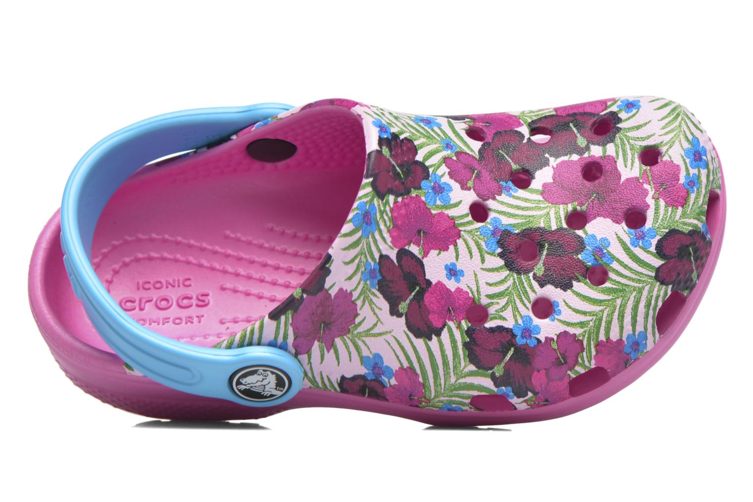 Classic Clog Graphic Kids Multicolor Pink