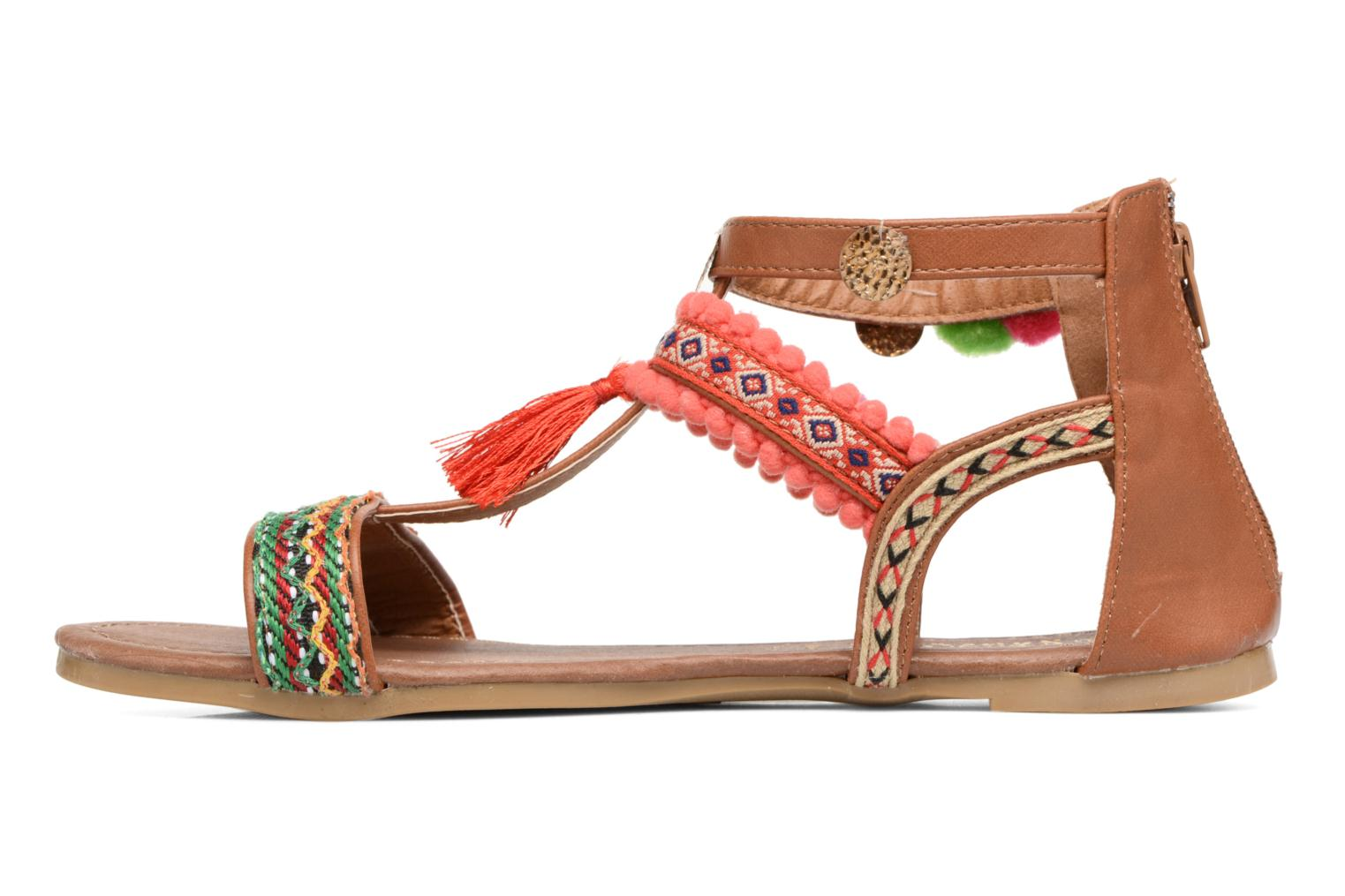 Sandales et nu-pieds I Love Shoes TAMIRE Multicolore vue face