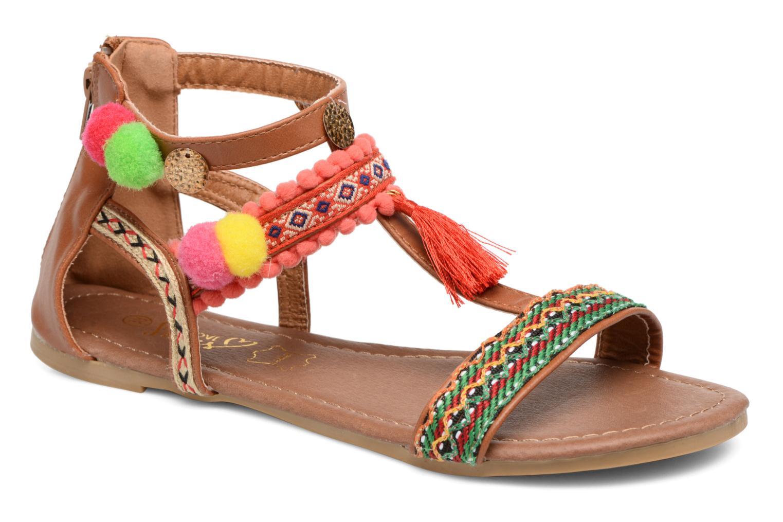 Cuir Kebam - Sandales Pour Les Femmes / Multicolore I Love Shoes Ir0czqe1