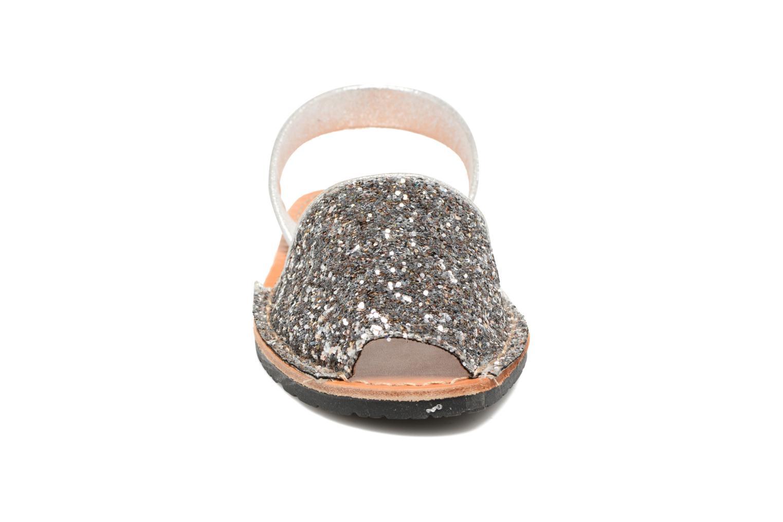 Sandales et nu-pieds Colors of California Mila Argent vue portées chaussures