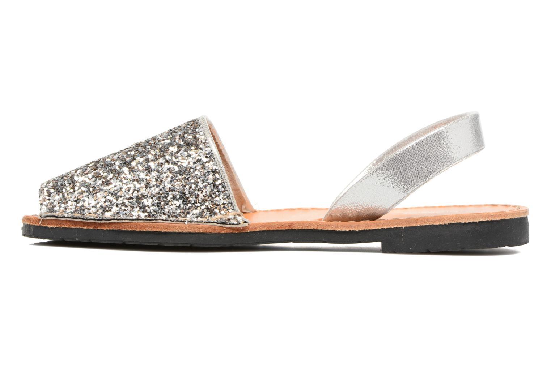 Sandales et nu-pieds Colors of California Mila Argent vue face