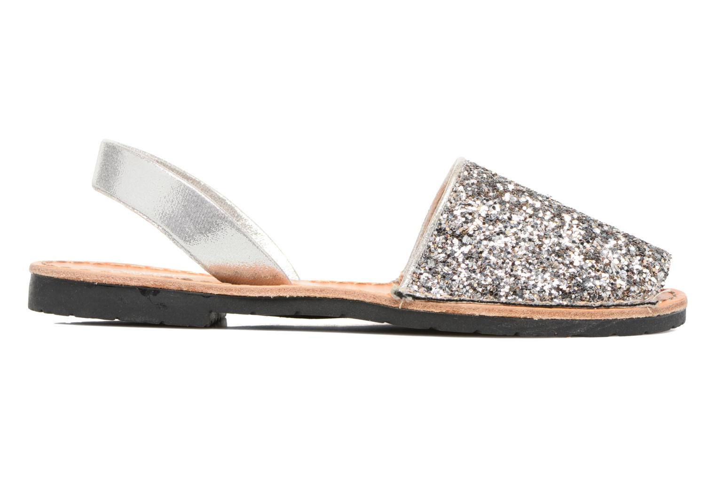 Sandales et nu-pieds Colors of California Mila Argent vue derrière