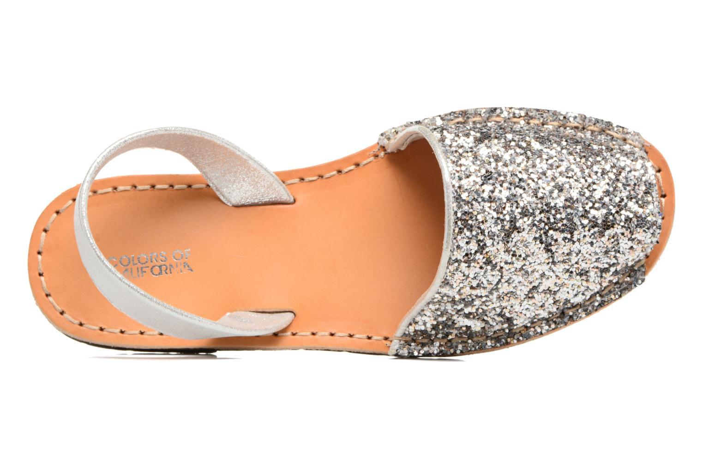 Sandales et nu-pieds Colors of California Mila Argent vue gauche