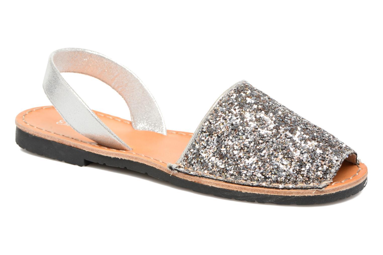 Sandales et nu-pieds Colors of California Mila Argent vue détail/paire