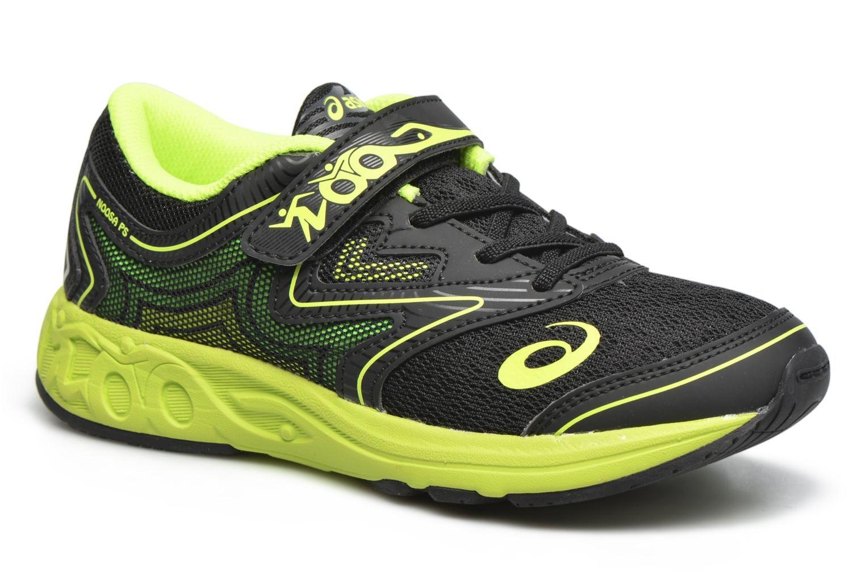 Gel-Noosa Tri 12 PS Black / Safety Yellow / Green Gecko