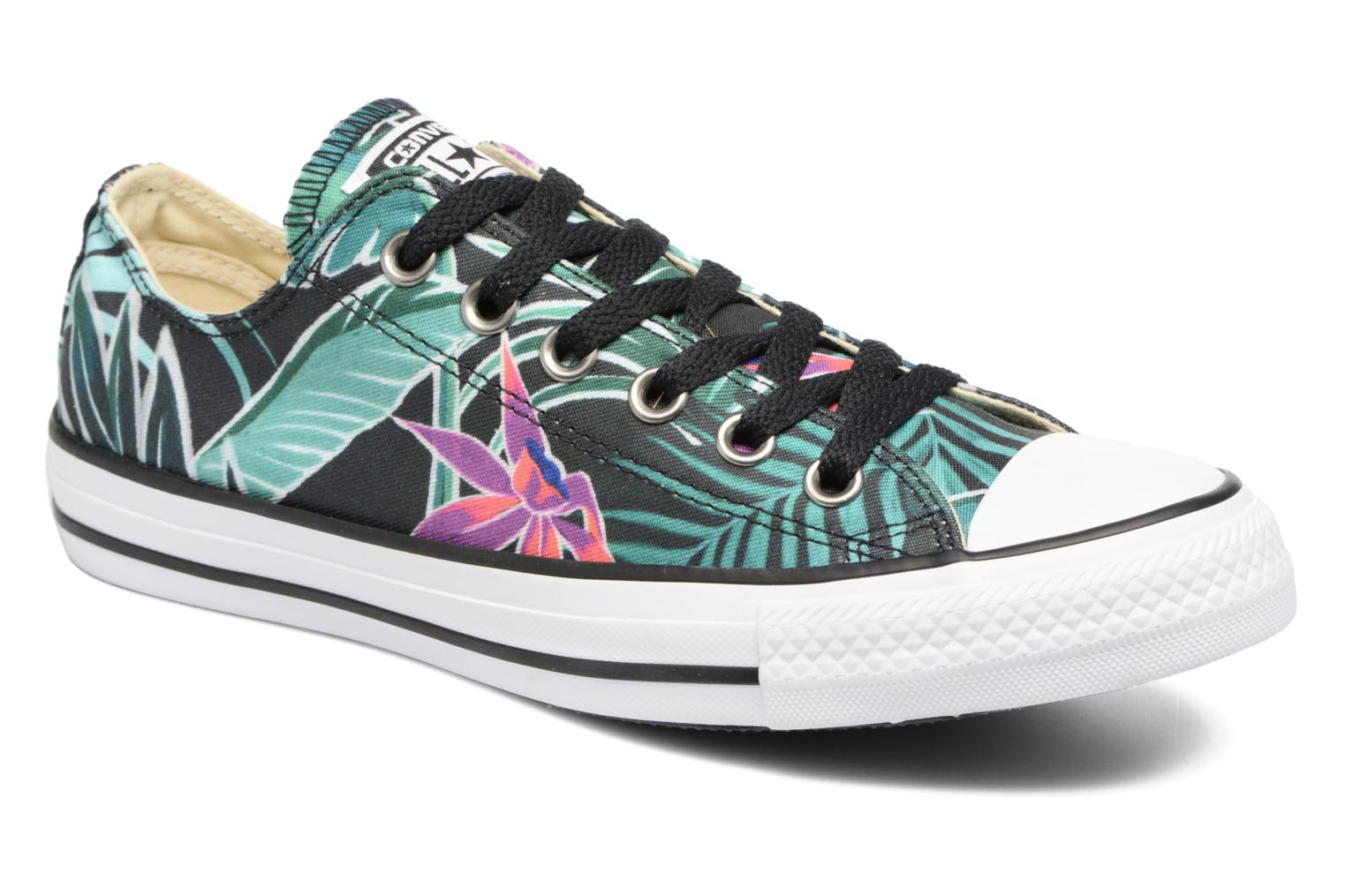 95e1f1aecd30 Trainers Converse Chuck Taylor All Star Ox Tropical Print W Multicolor  detailed view  Pair view