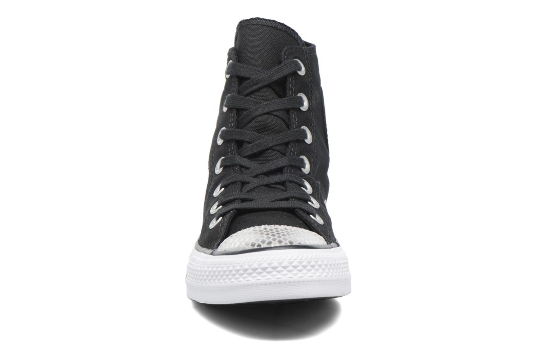 Sneakers Converse Chuck Taylor All Star Hi Metallic Toecap Zwart model