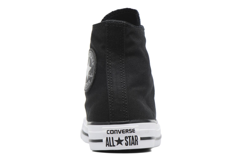 Sneakers Converse Chuck Taylor All Star Hi Metallic Toecap Zwart rechts