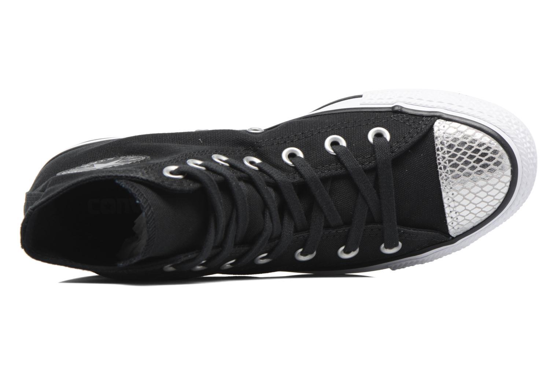 Sneakers Converse Chuck Taylor All Star Hi Metallic Toecap Zwart links