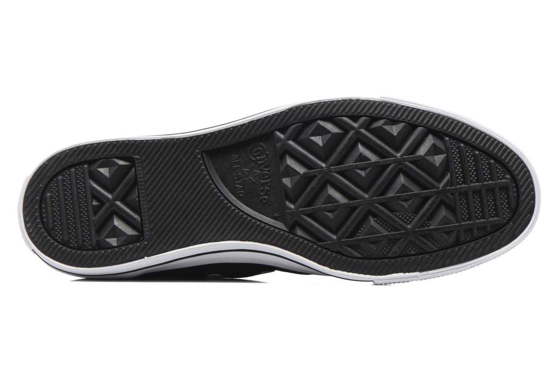 Sneakers Converse Chuck Taylor All Star Hi Metallic Toecap Zwart boven