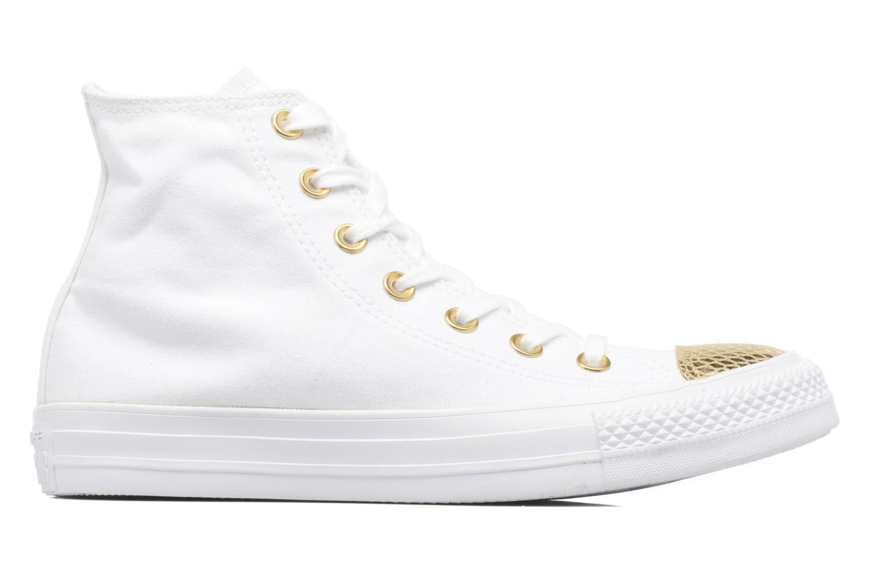 Sneakers Converse Chuck Taylor All Star Hi Metallic Toecap Wit achterkant