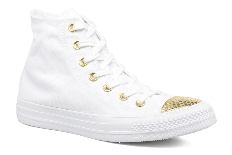 Sneakers Converse Chuck Taylor All Star Hi Metallic Toecap Bianco vedi dettaglio/paio