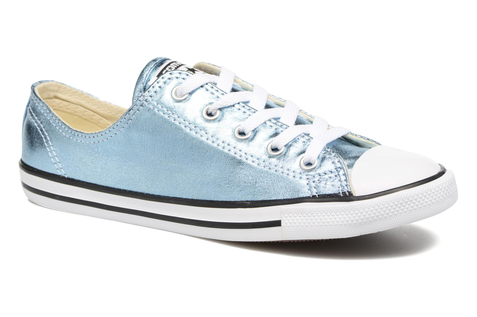 Chuck Taylor All Star Dainty Ox Metallics Blue Coast/Black/White