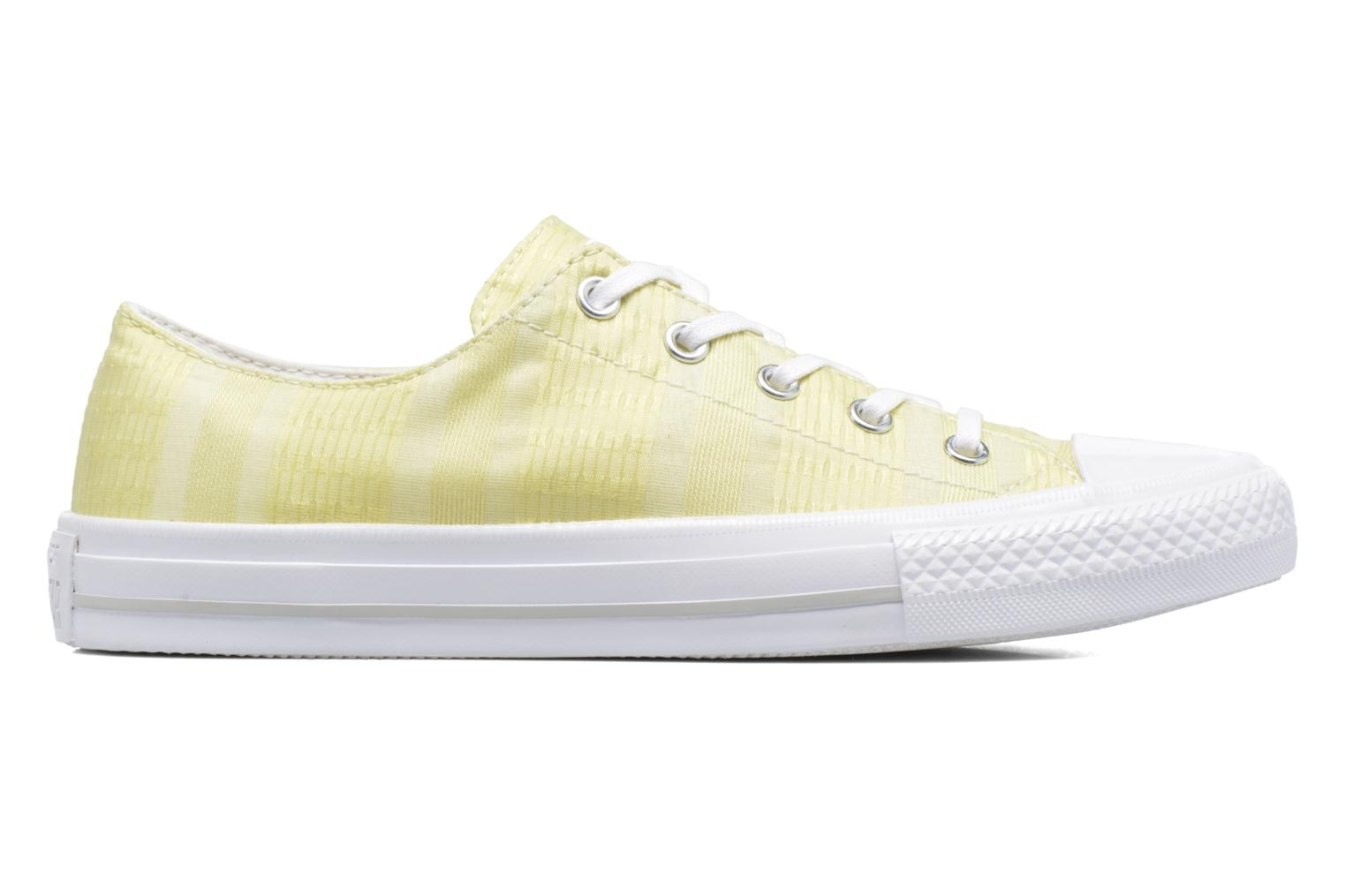 Sneakers Converse Chuck Taylor All Star Gemma Ox Engineered Lace Geel achterkant