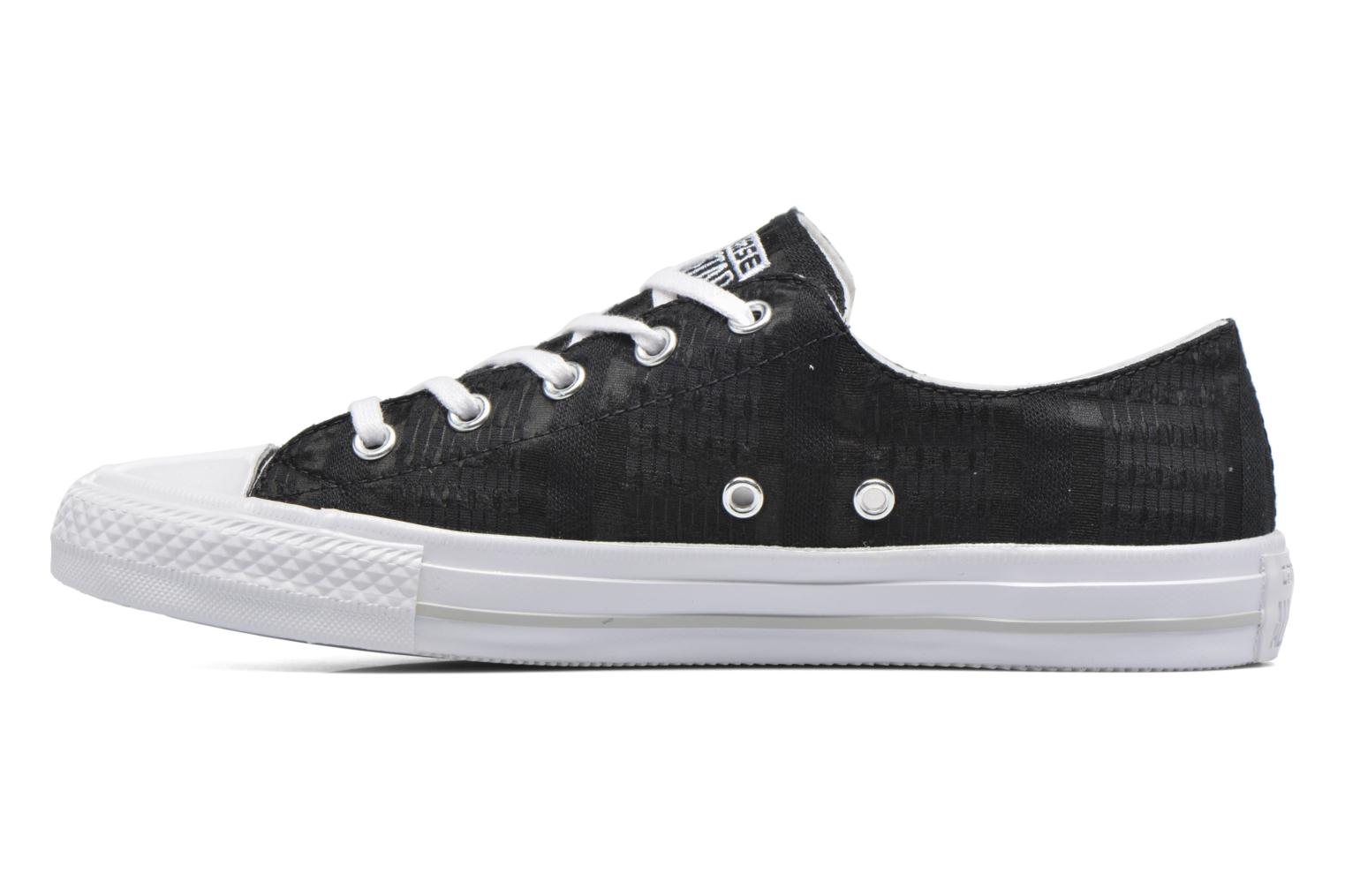 Baskets Converse Chuck Taylor All Star Gemma Ox Engineered Lace Noir vue face