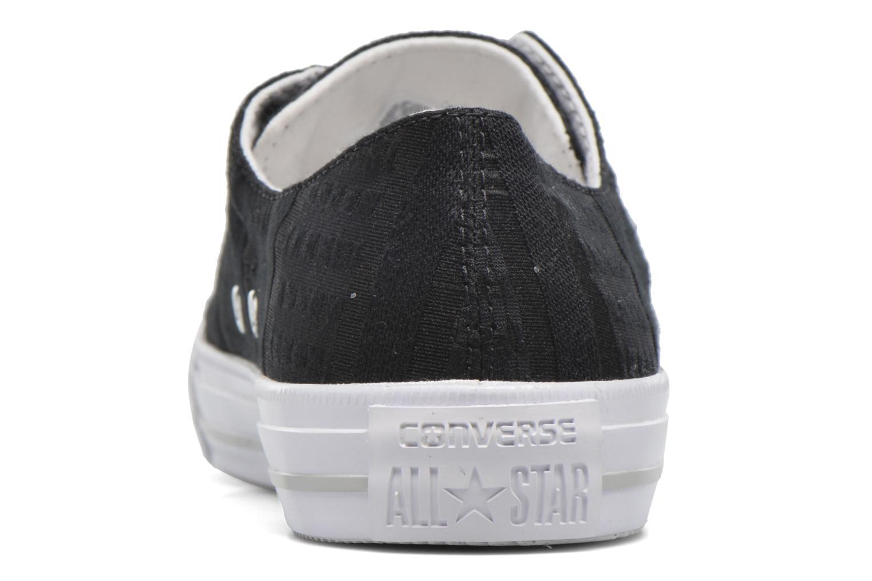 Sneakers Converse Chuck Taylor All Star Gemma Ox Engineered Lace Zwart rechts