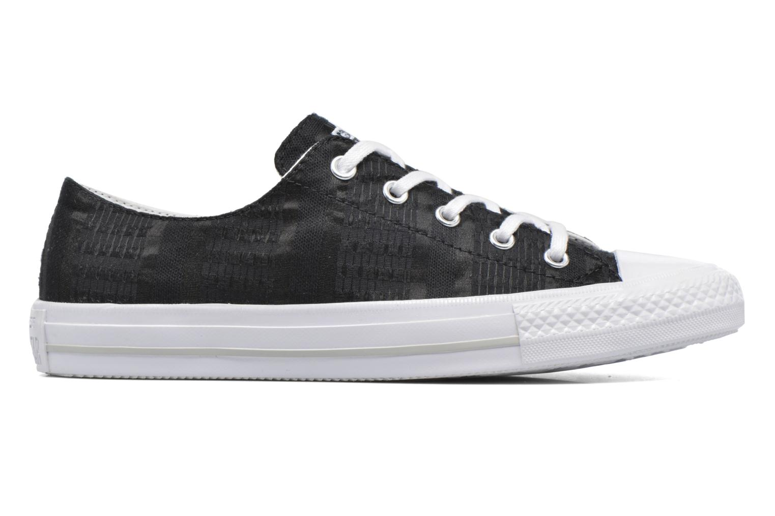 Baskets Converse Chuck Taylor All Star Gemma Ox Engineered Lace Noir vue derrière