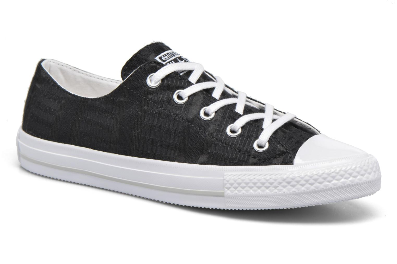 Baskets Converse Chuck Taylor All Star Gemma Ox Engineered Lace Noir vue détail/paire