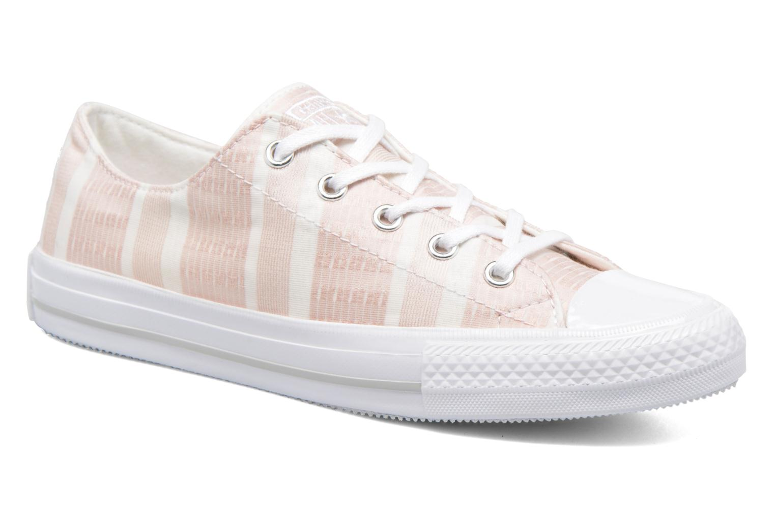 Baskets Converse Chuck Taylor All Star Gemma Ox Engineered Lace Rose vue détail/paire